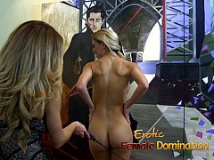 New employee gets back at her boss with some female domination-6