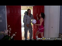 Brazzers - Big Tits In Sports - Coach's Boner scene starring Emmanuelle London & Danny Moun