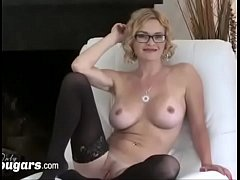 Chunky MILF Licks Her Mans Hairy Asshole Before Getting Fucked Doggystyle