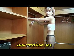 HD Slender Media Hairdo In Thailand Closet