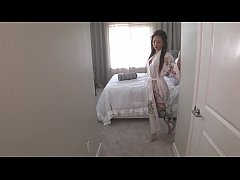 ayumi anime masturbates with glass dildo