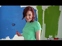 Amateur redhead whore gets dicked in butt Emma Ohara 1 1