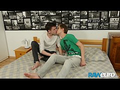 Clip sex RAWEURO Blonde European Twink Corey Law Getting Pounded Raw