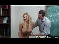 Brazzers - Big Tits at School - (Shyla Stylez, Jordan Ash) - The Nude Model
