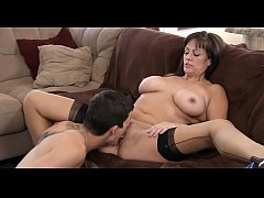 Mature babe is roughly drilled