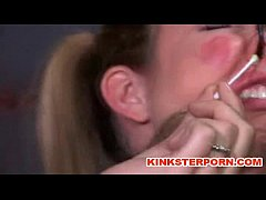 Female domination – Slaves in bondage are tormented