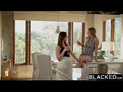 HD BLACKED First Interracial Threesome For Sydney Cole