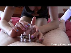 Your pathetic dick belongs in a chastity device