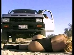 Horny Girl rescued and fucked by two guys \/100dates