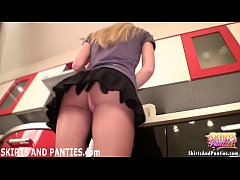 Come to kitchen and I will show you my panties
