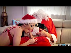 Spizoo - Watch Jessica Jaymes fucking Santa Claus, big boobs