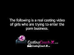 CastingCouch-X Shy dark skinned beauty is auditionning for porn