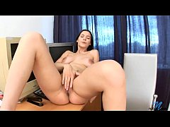 Amber Hardin Alanova Russian Brunette Fantasy Dream and Wet her Pussy