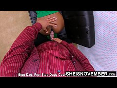 My Bigbutt Daughter-In-Law Finally Got What She Deserved!!! For Stealing From Me , Tiny Black Hottie Msnovember Fucked Doggy By Hung Step Father HD on Sheisnovember
