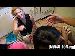 (Dare Megan Salinas, Nikki Lavay) - Triple Doggystyle - Real Slut Party