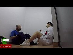 Horny nurse and the maintenance man fuck in their free time.RAF020