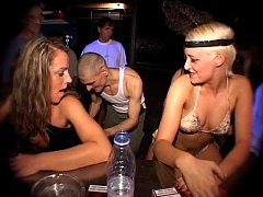 Silke Maiden, Salome & Dani Sun drink piss and ...