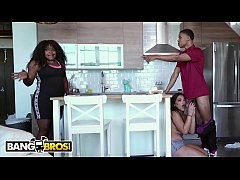 BANGBROS - Julz Gotti Lets Her Young Step Brother Lil D Know She Loves BBC