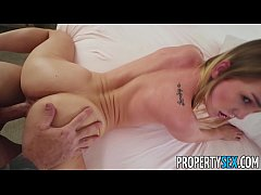 PropertySex Sexy little blonde is too hot to be roommate