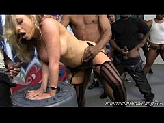Kagney Linn Karter Gangbanged by Blacks!