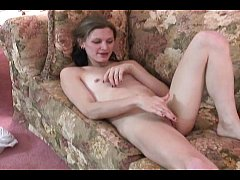 chick on a casting couch