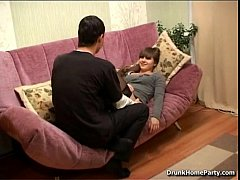 (drunkhomeparty.com) Drunken girl is ready to fuck the whole night long