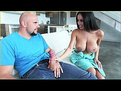 BANGBROS - Busty Black Stepmom Fucked By Stepson, J-Mac