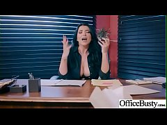 Hot Sex In Office With Big Round Boobs Girl (Romi Rain) video-27