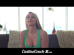 Casting Couch-X Blonde Southern bimbo fucks for cash
