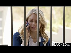 BLACKED Blonde Girlfriend Alli Rae Loves Black ...