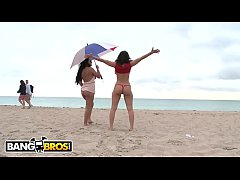 BANGBROS - Mariah Milano & Charley Chase Tour South Beach And Then Get Some Dick!
