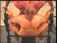 daddies gym hard workout
