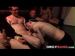 Amateur spermed by group