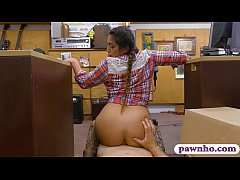 Country girl anal pounded by pawn dude