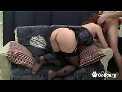 Fat Ass MILF Drains A Dick On Her Knees