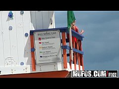 Mofos - Pervs On Patrol - Giving the Lifeguard a Massage starring  Kennedy Leigh