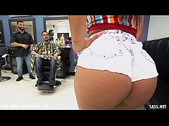 Booty Latina Wife Fucks The Barber - Rose Monroe