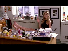 Jennifer Aniston's feet on 30 Rock