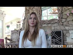 PervertPI - Private investigator fucks hot real estate agent oudoors