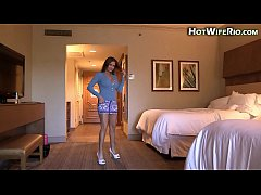 HD HotWifeRio cheating in a hotel