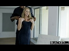 BLACKED Petite Blonde Shawna Lenee Screams On Huge Black Dick