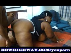 YouPorn - Thick ass Black BBW Diamond Knight get fucked