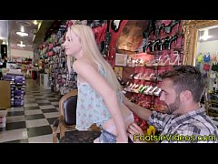 Blonde teens feet spunked