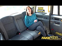 Fake Taxi Slim minx tight pussy stretched as she gets naughty and naked