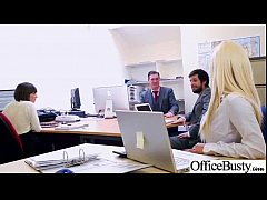Busty Office Girl (lou lou) Get Busy In Hardcore Sex Scene clip-24