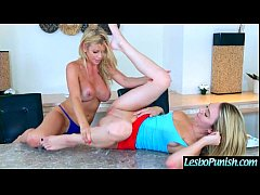 Lez Girl (Alexis Fawx & Molly Mae) Get Sex Toys Punish By Mean Lesbian mov-02