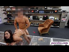 College girl banged by pervert pawn dude