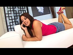 Big booty brunette housewife Lexxxi Lockhart calls her her younger boyfriend to have a bit of nooky while her husband is away