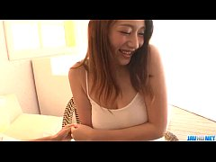 Clip sex Reon Otowa Asian model endures hardcore threesome