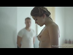 trickymasseur.com - evelina darling - rubbing her the right way